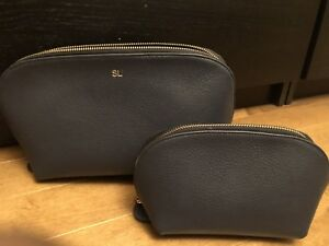 Cuyana - Leather Cosmetic/Accessory Cases