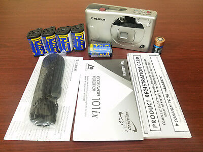 (5 Rolls) Voigtlander APS Film ISO 200 40 Exposures Nexia Advantix with Camera