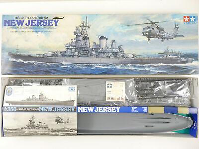 Tamiya 78017 BB-62 Jersey Battleship 1/350 plastic scale model kit
