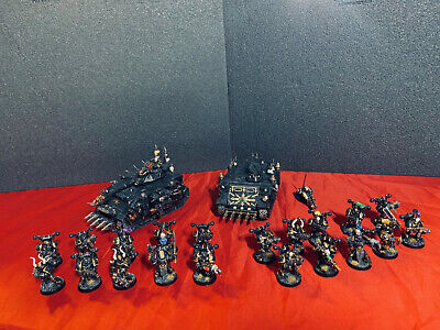 ForgeWorld Black Legion Chaos Space Marine Army ~ Warhammer 40K Predator, Rhino