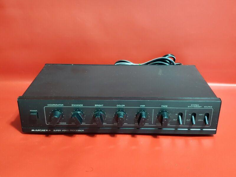 Archer Super Video Processor Model 15-1276 Radio Shack !!