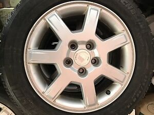 Cadillac alloy Mags 16 inch very clean!!