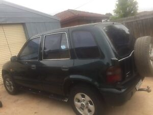 1997 Kia Sportage Wagon 4x4 Geelong Geelong City Preview