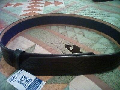 Gould Goodrich B56 Basketweave Duty Belt 36 Leather