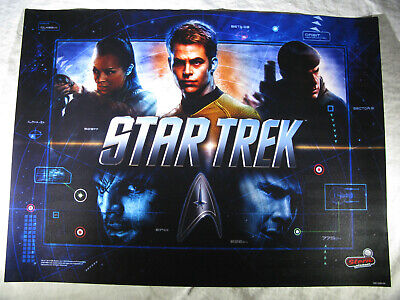 BRAND NEW Stern Star Trek Pro Pinball Machine Translite Backglass SHIPS FREE