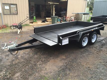 10 x 5 Heavy Duty Tandem Trailer Newstead Mount Alexander Area Preview