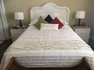 White Rando Cane Bedroom Suite Woodbridge Swan Area Preview