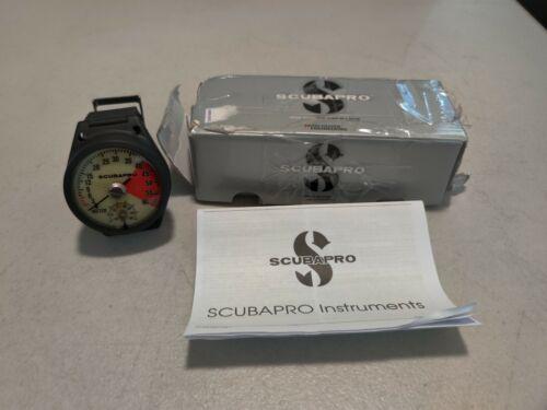 ScubaPro Depth And Pressure Gauge Depth Metric