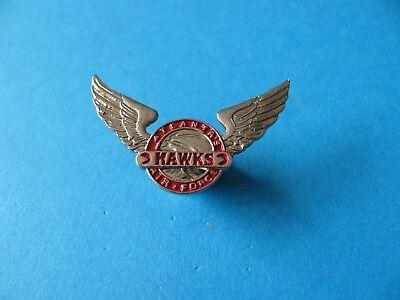 ATLANTA'S HAWKS Air Force Pin Badge, VGC. NBA Basket Ball