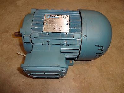 Lafert Ms71s4 Motor .50 Hp 1630rpm 60hz 208-230460v 2.11.2a 3 Phase