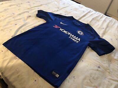 Chelsea Football Club Home Jersey Eden Hazard Champions 2017 Aunthentic Small image