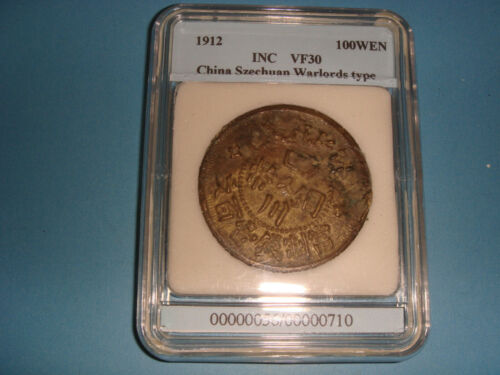 1912 China Szechuan Warlords 100WEN