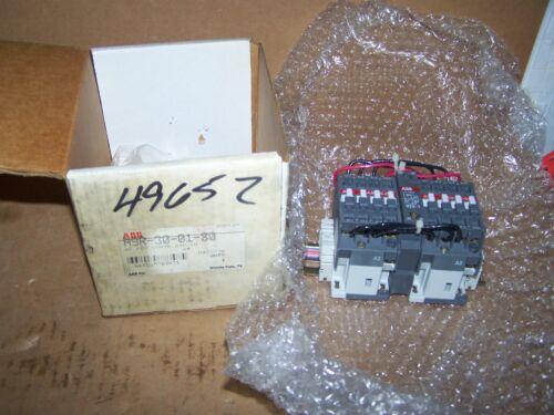 240/60 ABB A9R-30-01-80 REVERSING CONTACTOR A9R300180