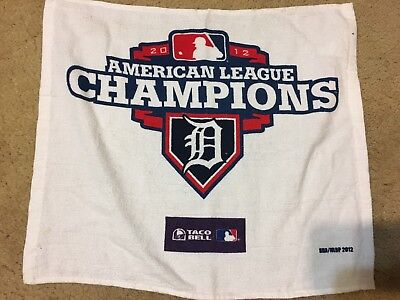 Detroit Tigers 2012 Mlb Playoffs Rally Towel