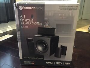 5.1 HD HOME THEATER SYSTEM KA-10