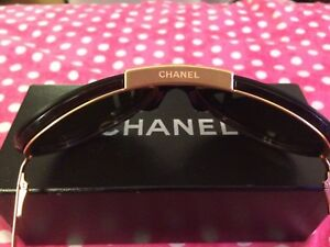 Authentic Chanel Aviator Shield Sunglasses