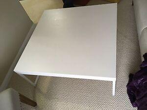 "Coffee Table White 36""x36"""