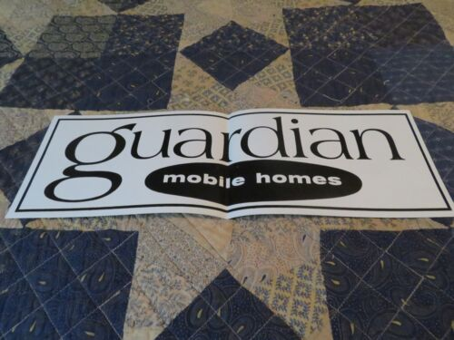 Sticker-GUARDIAN MOBILE HOMES.Large,original=ProductsOverTime