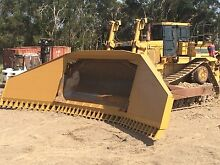 Cat D10R with Stick Rake Dalby Dalby Area Preview
