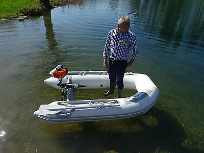 TRANSPARENT CLEAR BOTTOM INFLATABLE RIB BOAT 2,4 M delivery from EU,Vat included