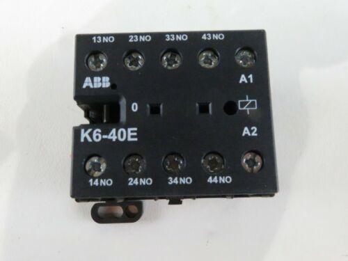 NNB ABB K6-40E CONTACTOR IEC/EN 60947-5-1