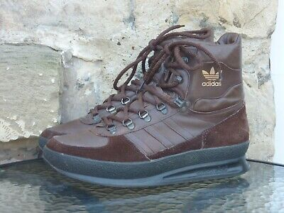 Vintage 1980s Adidas Trekking Boots UK8.5 Made In Yugoslavia OG 80s Winter Brown