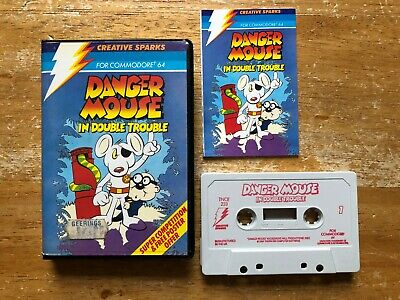 COMMODORE 64 (C64) - DANGER MOUSE IN DOUBLE TROUBLE (BY CREATIVE SPARKS) - CLAM