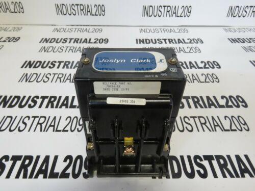 JOSLYN CLARK CONTACTOR 78090-6R NEW