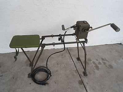 Chinese Army Surplus Hand Crank Generator