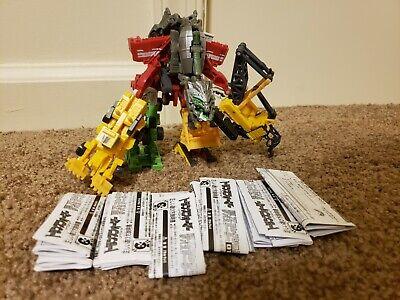 Transformers EZ Legends Devastator ROTF Japan Revenge of the Fallen Set of 7