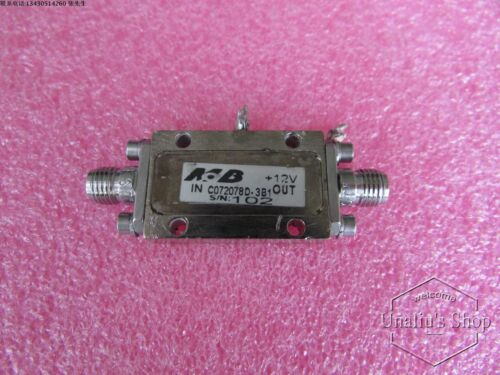 4.3-11.4GHz 25dB SMA RF microwave low noise amplifier