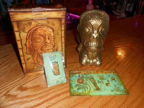 New Tiki Tony Cannibal of Doom Mug Set Tikiland Trading Company Indiana Jones