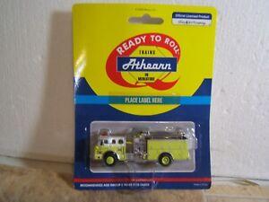 Athearn HO Scale Ford Model C Pumper Detroit Fire Dept. Engine #38 Truck #92011