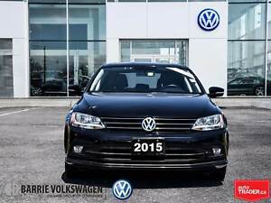 2015 Volkswagen Jetta TDI Highline/LEATHER/SUNROOF/BACK UP CAMER