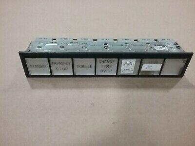 Idec Slc30n Industrial Control 24v Single Row Led Display Control Panel 12f6
