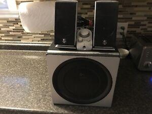 Speaker set 400watt 2.1 Logitech z2300