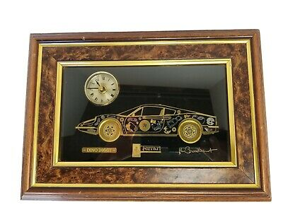 Ken Broadbent Ferrari Dino246 GT Quality Collages from Clock & Watch Parts