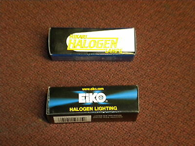 V81 HALOGEL LIGHT BULB EIKO HIKARI LOT OF 20 LAMP ASSORTED 35W 50W NIB FREE SHIP