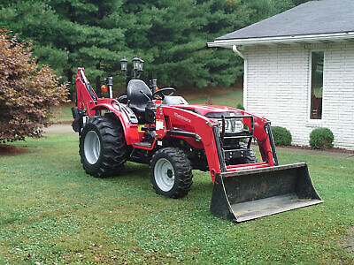 2017 Mahindra 1526 Loader Backhoe Low 176 Hrs Very Nice Conditon