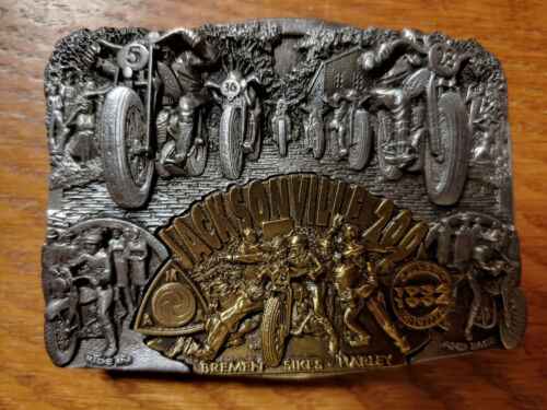 Jacksonville 200 50th Anniversary Belt Buckle Very Rare Number #1503 of 3000