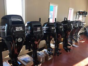 2015 Model Yamaha & Mercury Outboard and Power Equipment Sale