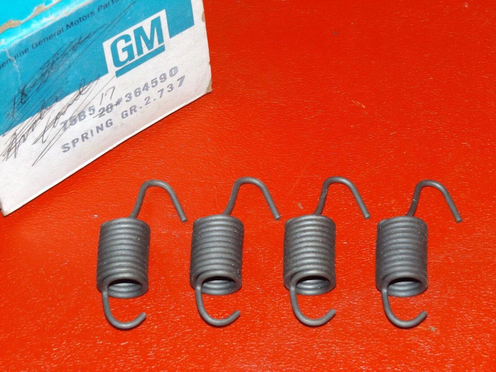 NOS GM 1975-1988 Chevrolet headlamp adjusting springs 364590 Caprice Monte Carlo