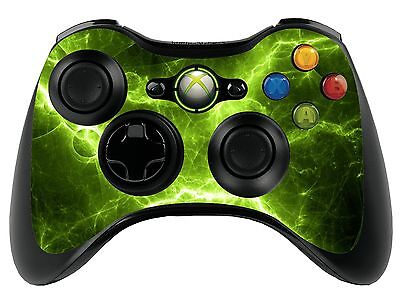 Green Electric Xbox 360 Remote Controller/Gamepad Skin / Cover / Vinyl  xbr27
