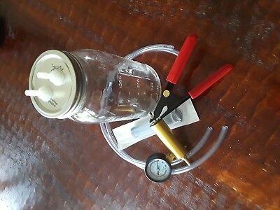 Goat Milker Hand Vacuum Milking Machine Without 12 Gallon Bottle -35ml Syringe