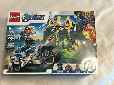 New AVENGERS Lego set 76142 SPEEDER BIKE ATTACK 226pc BLACK PANTHER THOR Aim