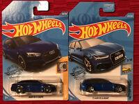 Audi RS 5 Coupe #118 Blue Turbo 2//5 2020 Hot Wheels Case E