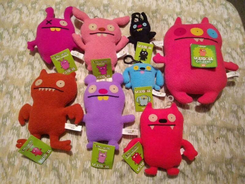 Ugly Dolls Little Ugly Dolls Lot of 8 Plush