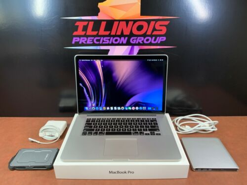 ≛ Retina Quad I7 Turbo Macbook Pro 15 ≛ 16gb Ram 500gb Ssd ≛ 3 Year Warranty ≛