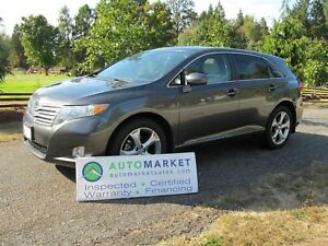 2009 Toyota Venza AWD, Pano Roof, Insp, Warr