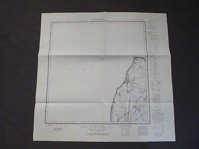 Landkarte Meßtischblatt 1085 Gr. Dirschkeim, Donskoje, Ostpreußen, Samland, 1937